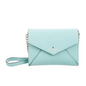 kate spade leather envelope crossbody purse